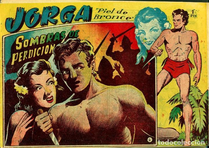 Tebeos: JORGA (RICART, 1954) DE FERRANDO. COMPLETA: 18 EJEMPLARES. EL Nº1 ES TOMO. - Foto 6 - 188629413