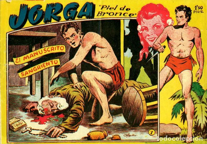 Tebeos: JORGA (RICART, 1954) DE FERRANDO. COMPLETA: 18 EJEMPLARES. EL Nº1 ES TOMO. - Foto 7 - 188629413