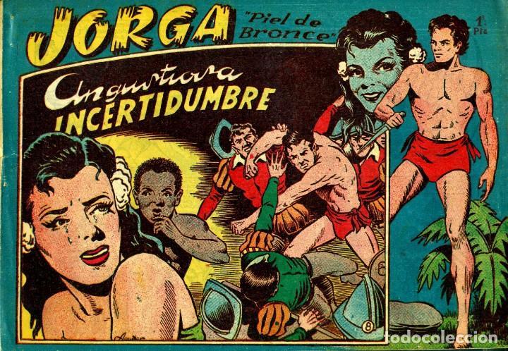 Tebeos: JORGA (RICART, 1954) DE FERRANDO. COMPLETA: 18 EJEMPLARES. EL Nº1 ES TOMO. - Foto 8 - 188629413
