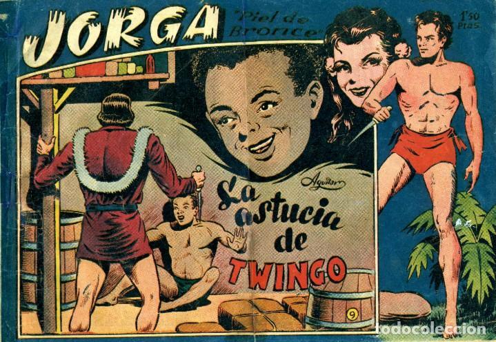 Tebeos: JORGA (RICART, 1954) DE FERRANDO. COMPLETA: 18 EJEMPLARES. EL Nº1 ES TOMO. - Foto 9 - 188629413