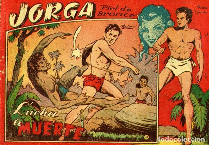 Tebeos: JORGA (RICART, 1954) DE FERRANDO. COMPLETA: 18 EJEMPLARES. EL Nº1 ES TOMO. - Foto 10 - 188629413