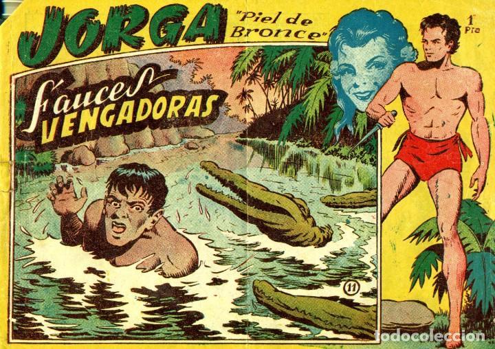 Tebeos: JORGA (RICART, 1954) DE FERRANDO. COMPLETA: 18 EJEMPLARES. EL Nº1 ES TOMO. - Foto 11 - 188629413