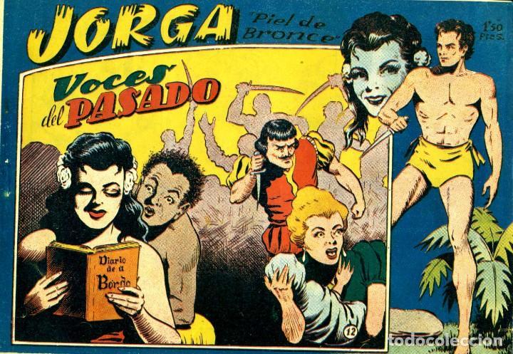 Tebeos: JORGA (RICART, 1954) DE FERRANDO. COMPLETA: 18 EJEMPLARES. EL Nº1 ES TOMO. - Foto 12 - 188629413