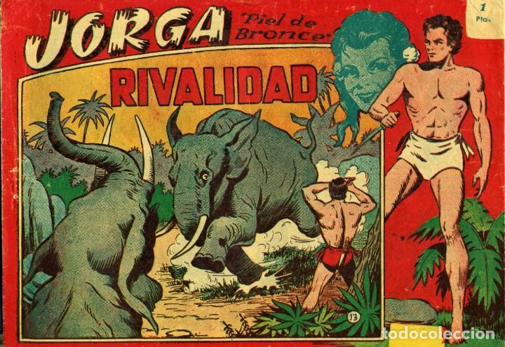 Tebeos: JORGA (RICART, 1954) DE FERRANDO. COMPLETA: 18 EJEMPLARES. EL Nº1 ES TOMO. - Foto 13 - 188629413