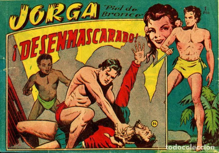 Tebeos: JORGA (RICART, 1954) DE FERRANDO. COMPLETA: 18 EJEMPLARES. EL Nº1 ES TOMO. - Foto 14 - 188629413
