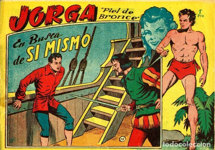 Tebeos: JORGA (RICART, 1954) DE FERRANDO. COMPLETA: 18 EJEMPLARES. EL Nº1 ES TOMO. - Foto 15 - 188629413