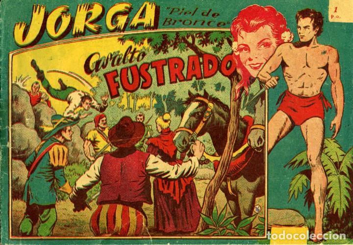 Tebeos: JORGA (RICART, 1954) DE FERRANDO. COMPLETA: 18 EJEMPLARES. EL Nº1 ES TOMO. - Foto 16 - 188629413