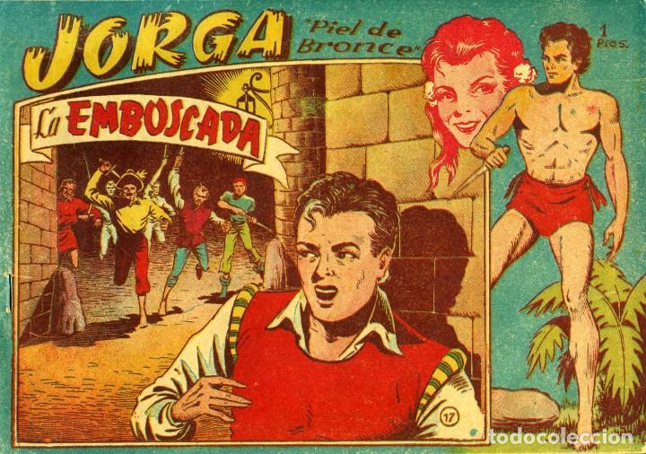 Tebeos: JORGA (RICART, 1954) DE FERRANDO. COMPLETA: 18 EJEMPLARES. EL Nº1 ES TOMO. - Foto 17 - 188629413