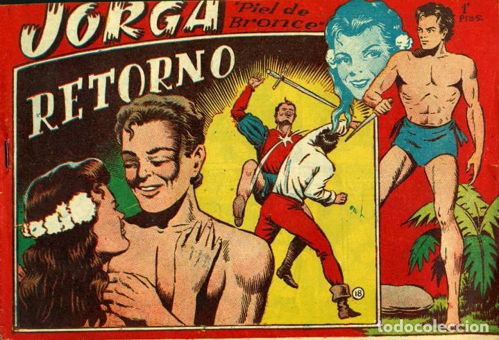 Tebeos: JORGA (RICART, 1954) DE FERRANDO. COMPLETA: 18 EJEMPLARES. EL Nº1 ES TOMO. - Foto 18 - 188629413