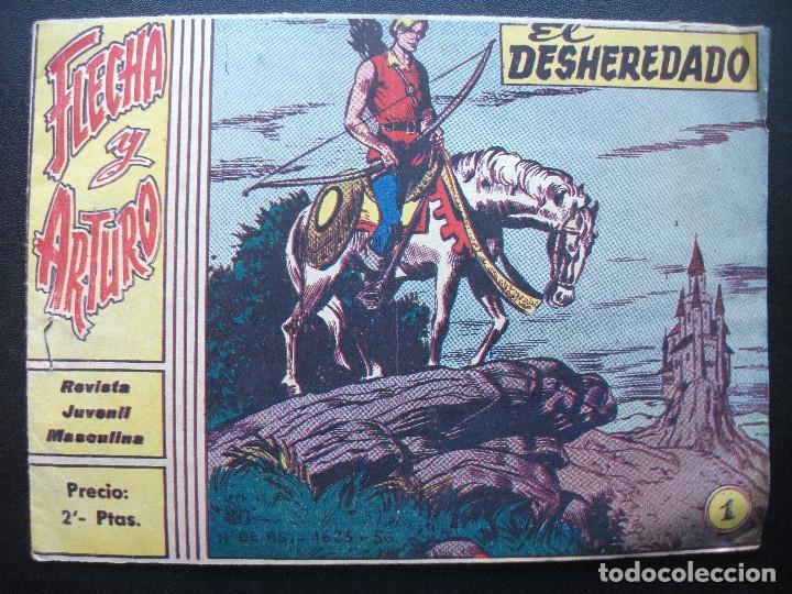 FLECHA Y ARTURO Nº 1 DE 2 PTS. (Tebeos y Comics - Ricart - Flecha y Arturo)