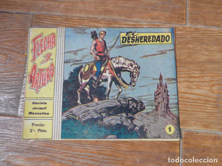 FLECHA Y ARTURO COLECCION COMPLETA 30 NUMEROS EDITORIAL RICART ORIGINAL 2 PTS. (Tebeos y Comics - Ricart - Flecha y Arturo)