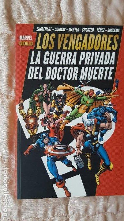 MARVEL GOLD LOS VENGADORES LA GUERRA PRIVADA DEL DOCTOR MUERTE (Tebeos y Comics - Ricart - Golondrina)