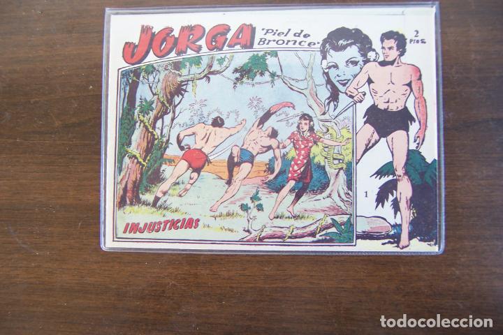RICART,- JORGA PIEL DE BRONCE Nº 1 Y OTRO Nº 1 MAS EL Nº 17 DE 2ª EPOCA (Tebeos y Comics - Ricart - Jorga)