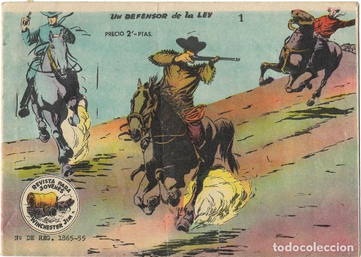 WINCHESTER JIM Nº 1 - UN DEFENSOR DE LA LEY - BUEN ESTADO (Tebeos y Comics - Ricart - Otros)