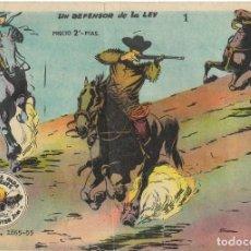Tebeos: WINCHESTER JIM Nº 1 - UN DEFENSOR DE LA LEY - BUEN ESTADO. Lote 190735833