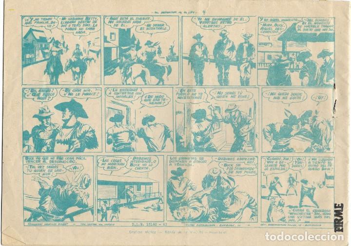Tebeos: WINCHESTER JIM Nº 1 - UN DEFENSOR DE LA LEY - BUEN ESTADO - Foto 2 - 190735833