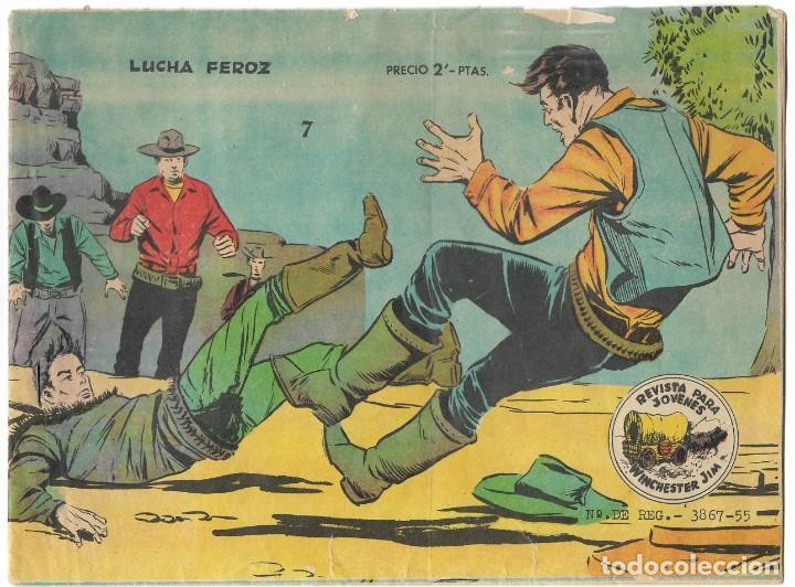 WINCHESTER JIM Nº 7 - LUCHA FEROZ - BUEN ESTADO (Tebeos y Comics - Ricart - Otros)