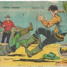 Tebeos: WINCHESTER JIM Nº 7 - LUCHA FEROZ - BUEN ESTADO. Lote 190736148