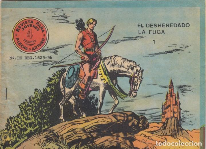 FLECHA Y ARTURO. Nº 1 EN LA PORTADA. DOS TÍTULOS EN LA PORTADA. RICART (Tebeos y Comics - Ricart - Flecha y Arturo)