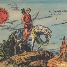 Tebeos: FLECHA Y ARTURO. Nº 1 EN LA PORTADA. DOS TÍTULOS EN LA PORTADA. RICART. Lote 191397021