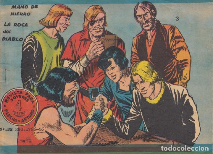 FLECHA Y ARTURO. ÁLBUM Nº3 EN LA PORTADA. DOS HISTORIAS (TITULO EN LA PORTADA). RICART. (Tebeos y Comics - Ricart - Flecha y Arturo)