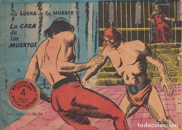 FLECHA Y ARTURO. ÁLBUM Nº 5 EN LA PORTADA. DOS HISTORIAS. RICART. (Tebeos y Comics - Ricart - Flecha y Arturo)