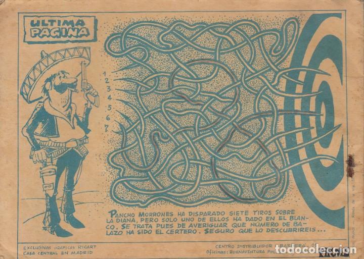 Tebeos: Flecha y Arturo. Álbum nº 5 en la portada. Dos historias. Ricart. - Foto 3 - 191399056