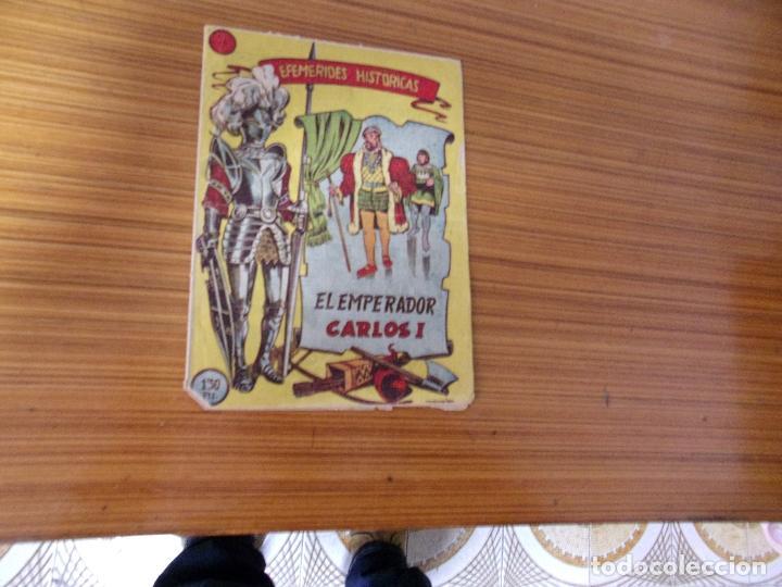 EFEMERIDES HISTORICAS Nº 19 EDITA RICART (Tebeos y Comics - Ricart - Otros)