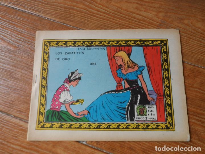 COLECCION ARDILLITA - Nº 354 - LOS ZAPATITOS DE ORO RICART (Tebeos y Comics - Ricart - Otros)
