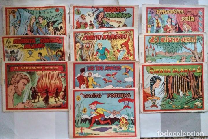 LOTE 10 EJEMPLARES COLECCION MARGARITA 30, 44, 61, 88, 89, 91, 103, 115, 118, 160 RICART (Tebeos y Comics - Ricart - Otros)