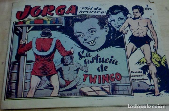 JORGA PIEL DE BRONCE LA ASTUCIA DE TWINGO Nº 9 RICART AÑO 1963 (Tebeos y Comics - Ricart - Jorga)