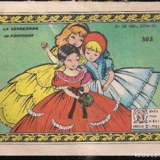 Tebeos: ARDILLITA Nº 303: LA VENDEDORA DE FOSFOROS. Lote 195270932