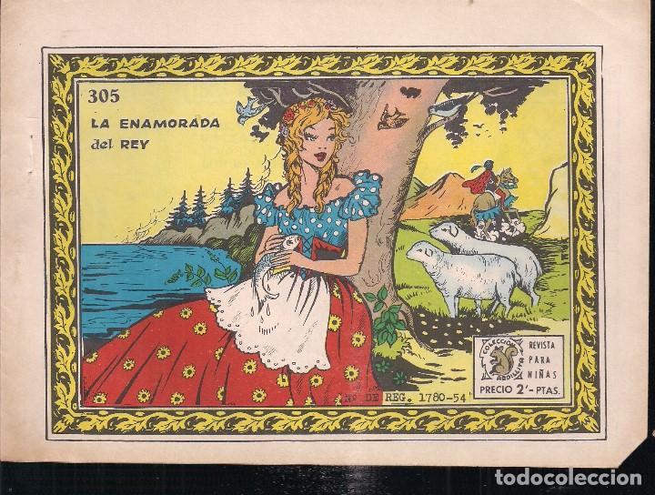 ARDILLITA Nº 305: LA ENAMORADA DEL REY (Tebeos y Comics - Ricart - Otros)