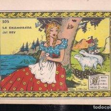 Tebeos: ARDILLITA Nº 305: LA ENAMORADA DEL REY. Lote 195271036
