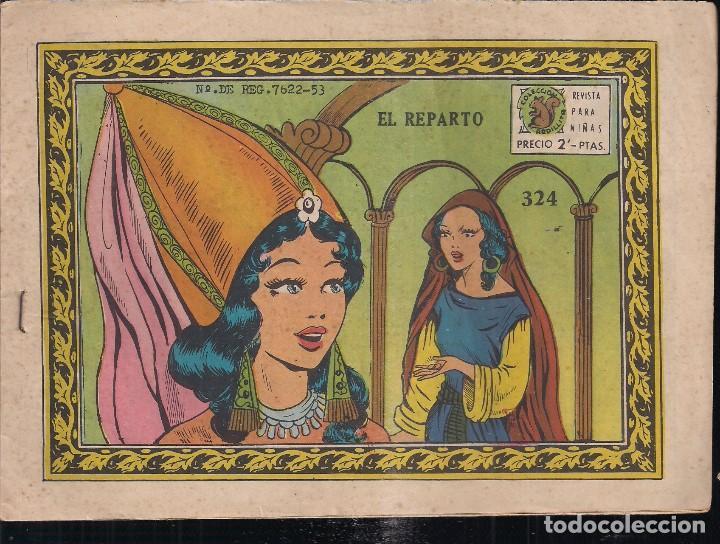 ARDILLITA Nº 324: EL REPARTO (Tebeos y Comics - Ricart - Otros)