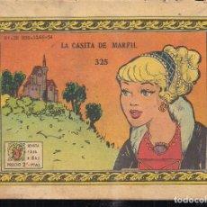 Tebeos: ARDILLITA Nº 325: LA CASITA DE MARFIL. Lote 195371981