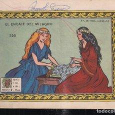 Tebeos: ARDILLITA Nº 355: EL ENCAJE DEL MILAGRO. Lote 195372096