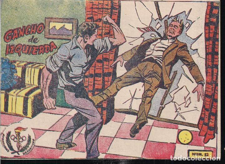 AVENTURAS DEPORTIVAS Nº 12 GANCHO DE IZQUIERDA (Tebeos y Comics - Ricart - Aventuras Deportivas)
