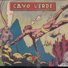 Tebeos: AVENTURAS DEPORTIVAS 1 PTA. Nº 14 CAYO VERDE. Lote 195486751