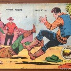 Tebeos: LOTE DE 2 NÚMEROS WINCHESTER JIM (CARAVANA). ORIGINALES. GRAFICAS RICART 1963.. Lote 196104022