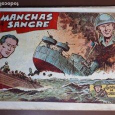 Tebeos: EPISODIOS DE COREA - Nº53 - MANCHAS DE SANGRE - RICART. Lote 196104547