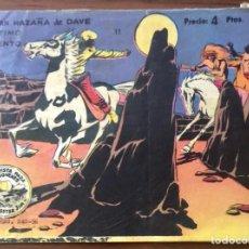 Tebeos: WINCHESTER JIM Nº 11 (ALBUM). ORIGINAL. GRAFICAS RICART 1965.. Lote 196108603