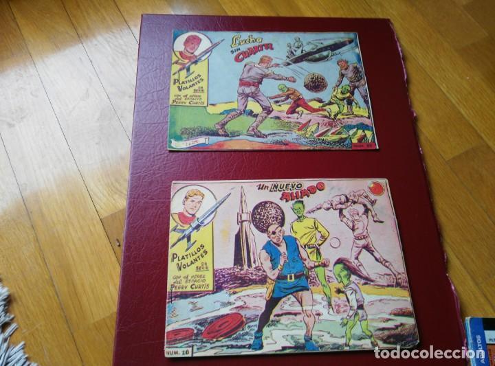 PLATILLOS VOLANTES 16 Y 17 2ª SERIE. RICART 1963 (Tebeos y Comics - Ricart - Otros)