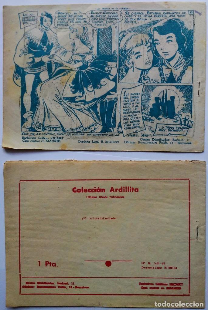 Tebeos: lote coleccion ardillita 191 la mirada gacela y nº 695 La bota soldado Ricart. Espirituazul - Foto 2 - 196230683
