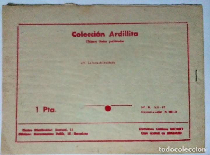 Tebeos: lote coleccion ardillita 191 la mirada gacela y nº 695 La bota soldado Ricart. Espirituazul - Foto 6 - 196230683