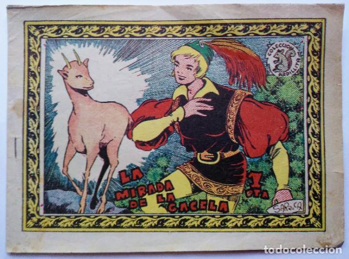 Tebeos: lote coleccion ardillita 191 la mirada gacela y nº 695 La bota soldado Ricart. Espirituazul - Foto 3 - 196230683