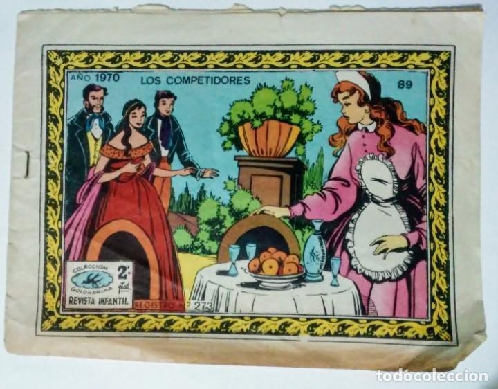 COLECCION GOLONDRINA Nº 89 LOS COMPETIDORES AÑO 1970 RICART (Tebeos y Comics - Ricart - Golondrina)