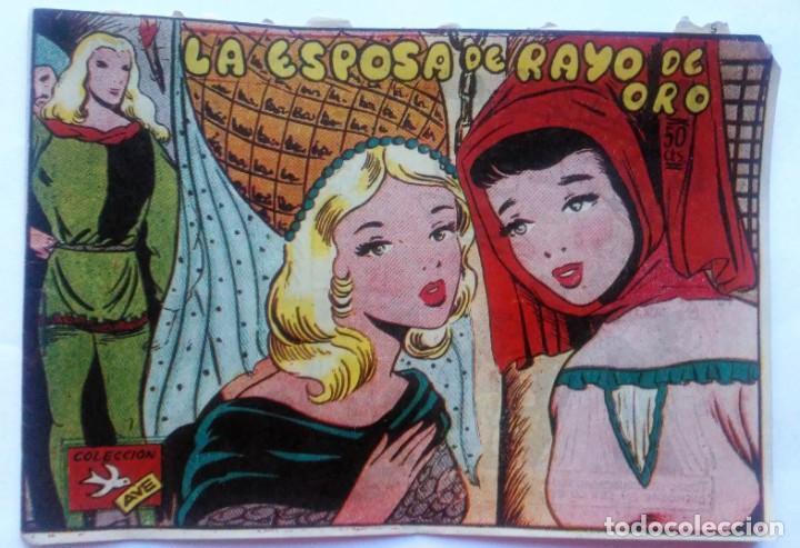 COLECCION AVE N° 27 LA ESPOSA DE RAYO DE ORO (Tebeos y Comics - Ricart - Ave)