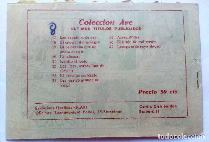 Tebeos: Coleccion ave n° 27 la esposa de rayo de oro - Foto 3 - 196327938