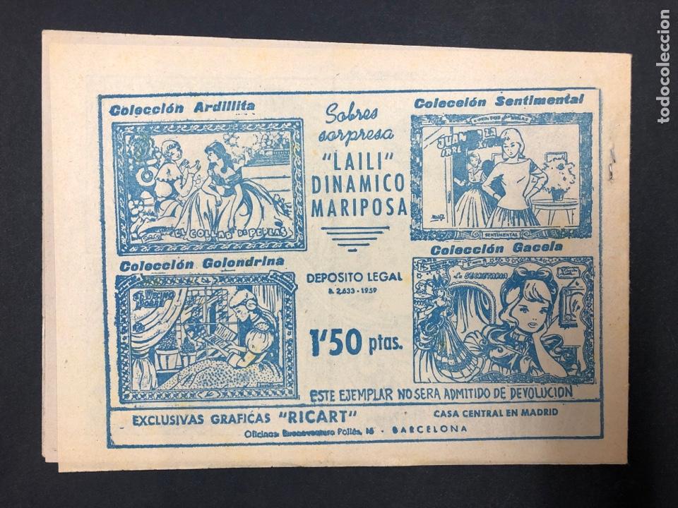 Tebeos: LA PUEBLERINA Nº 72 - COLECCION GACELA - Foto 2 - 196634680